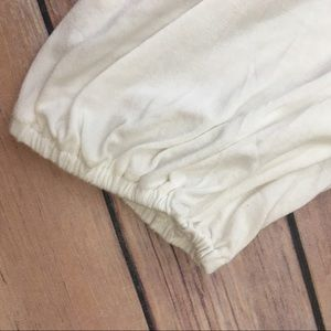 Nanette Lepore Tops - Nanette Lepore Lace Top Soft Popover Off White